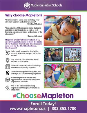 Choose Mapleton